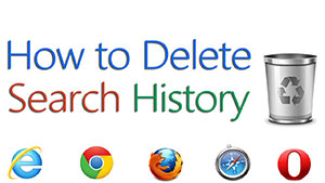 Delete Search History