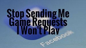 Facebook Block Game Requests