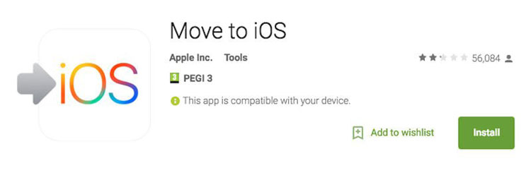 Move from Android to iPhone with iOS App