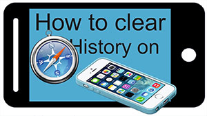iPhone Clear Browser History