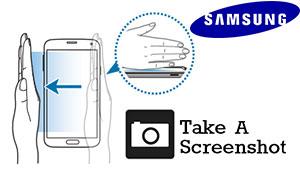 Samsung Galaxy Take a Screenshot