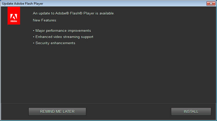 Flash Player Updates Windows