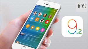 Upgrade iOS 9.1 to iOS 9.2