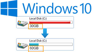 Windows 10 Extend C Drive