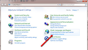 Windows 7 Change Language