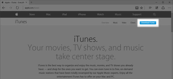 how to download new itunes on pc