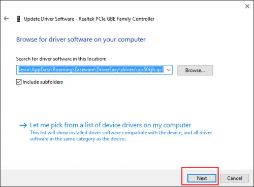 Windows 10 Manually Update Drivers
