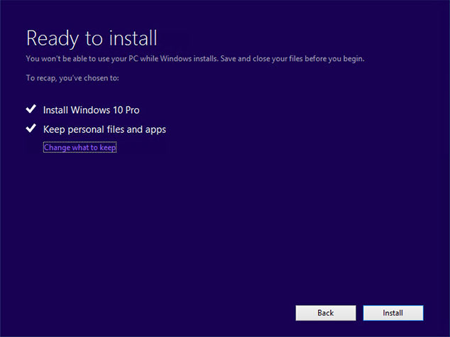 Windows 10 Upgrade Step by Step