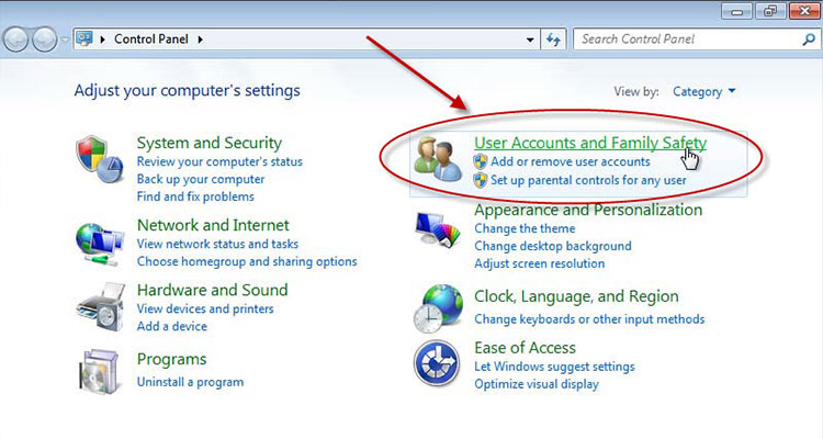 Parental Controls in Windows 7