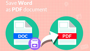 Word Save as PDF